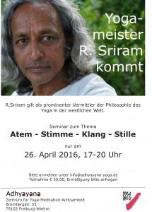 Sriram Seminar 26.4.16